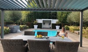 Piron Metallbau, Kleve, Lounge Lamellendach Überdachung Freistehend (9)_small