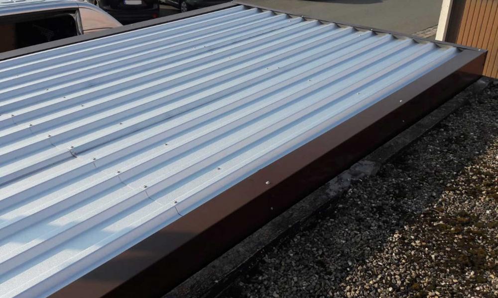 Pironmetallbau-renovierungsdach